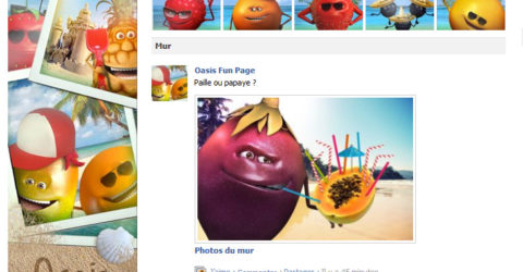 page facebook oasis