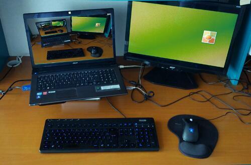 Un bureau bien rangé