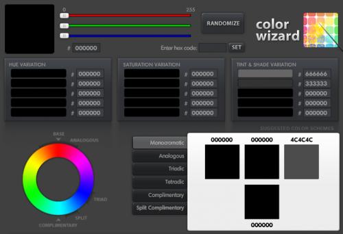 web en couleur