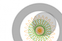 Spirographe virtuel
